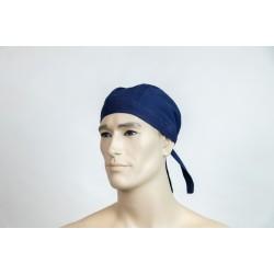 Καπέλο μάγειρα ανδρικό μπλε