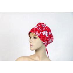 Καπέλο χειρουργείου κόκκινο...