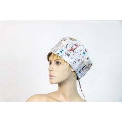 Καπέλο χειρουργείου λευκό...