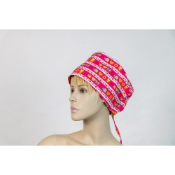 Καπέλο χειρουργείου ροζ με...