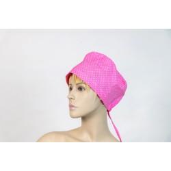 Καπέλο χειρουργείου ροζ σκούρο